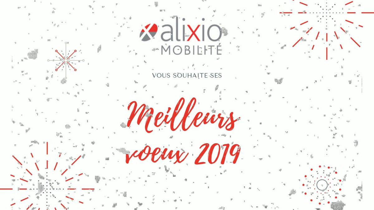 Image for the Tweet beginning: Toute l'équipe @AlixioMobilite vous souhaite