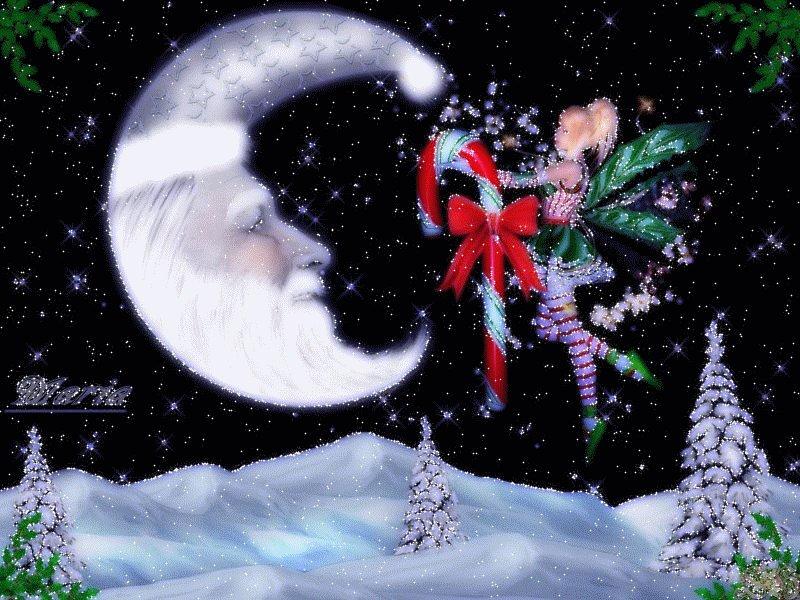 Гифки новогодняя ночь, пожаловать картинки анимацией
