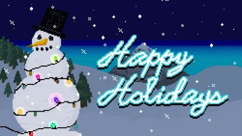 Image for the Tweet beginning: Happy Holidays!