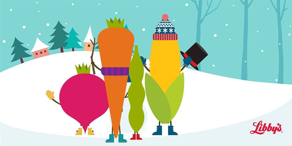 Image for the Tweet beginning: #HappyHolidays from us at Libby's®!