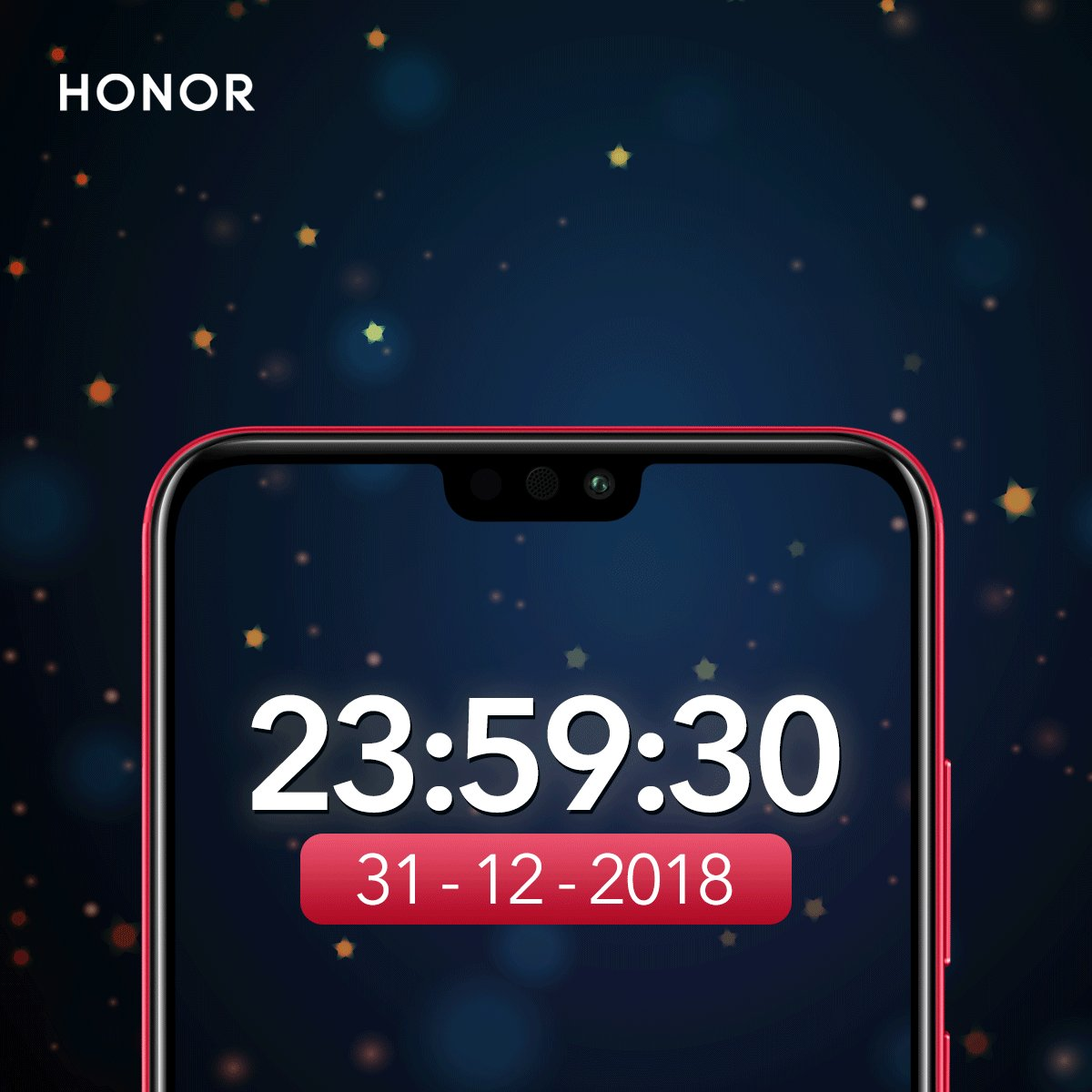 Hai HONOR Fans, Selamat tahun baru 2019!  Yuk Share screenshot 00:00:00 kamu dibawah komen ini!  Kalo kamu berhasil screenshot 00:00:00, kamu akan dapatkan HONOR New Year bleesing 🎉🎉🥳🥳 #HONORIndonesia #HONORSmartphone