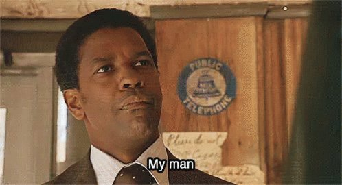Happy Birthday to the incomparable Denzel Washington.