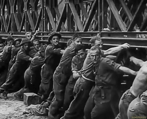 """Montgomery: """"Without the Bailey bridge we should not have won the war"""". Don't know about that, but Sir Donald Coleman Bailey's designs sure did shorten the war, and save lives. #WW2 #HISTORY"""