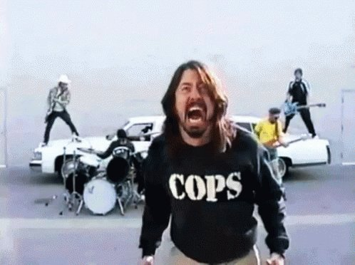 Happy birthday to the coolest rock star ever - Dave Grohl!!!!!