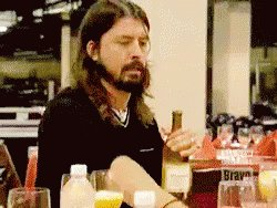 Happy birthday, Dave Grohl, you beautiful man. // The big 5-0 got nothing on you.