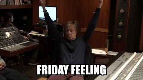 #FridayFeeling 🙌 spoti.fi/2SIyUNS