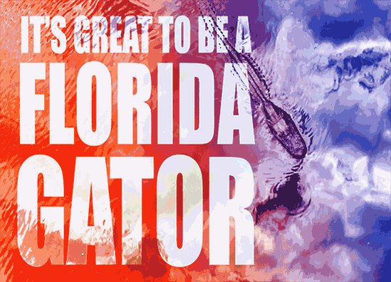 Welcome back, Gators! Hope you have a great first day of Spring Classes @UF!