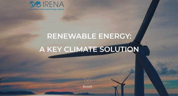 IRENA's photo on #ClimateAction
