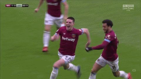 Declan Rice's photo on Hammers