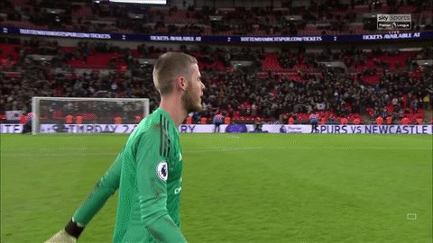 Find someone who looks at you the way Juan Mata looks at David De Gea... 😍  Watch in-game clips and highlights with the Sky Sports app: http://skysports.tv/H8T7TE