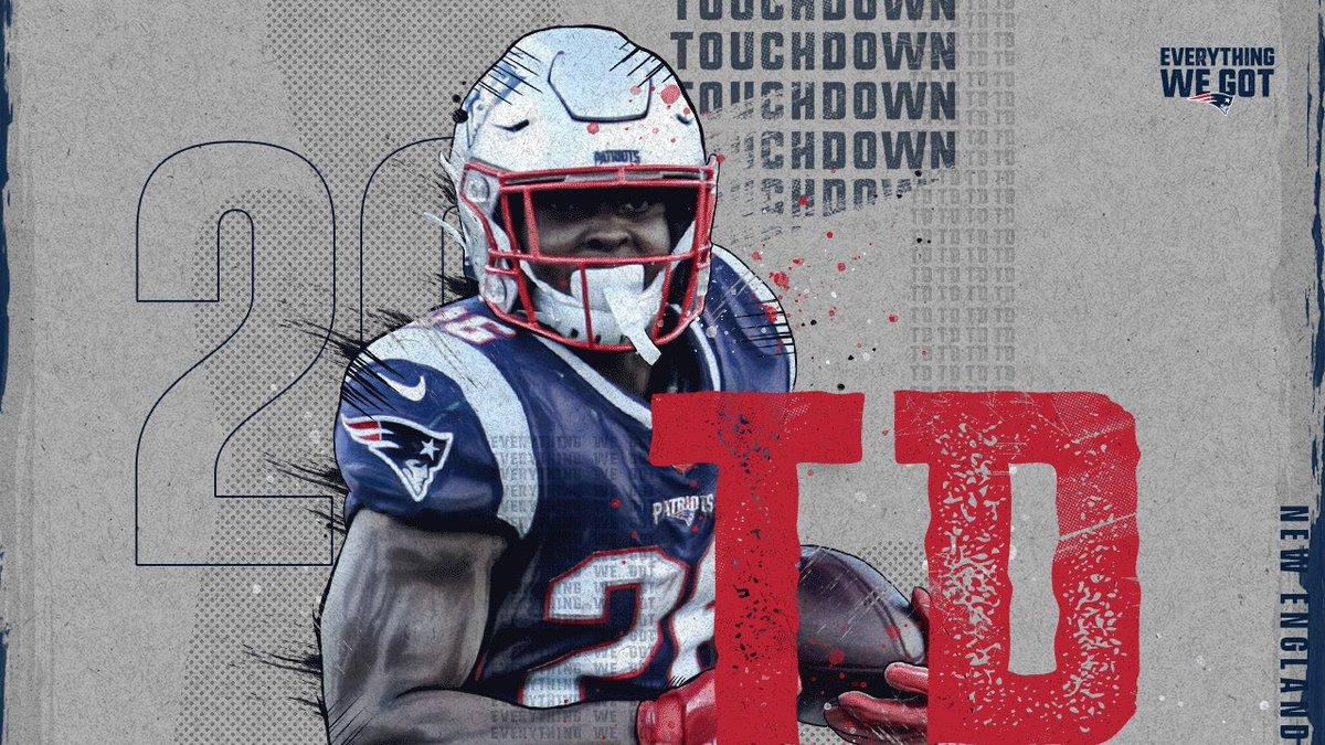 New England Patriots's photo on Sony Michel