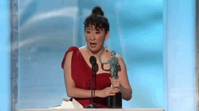 Screen Actors Guild Awards - Page 10 Dx9v2djU8AAXvnE