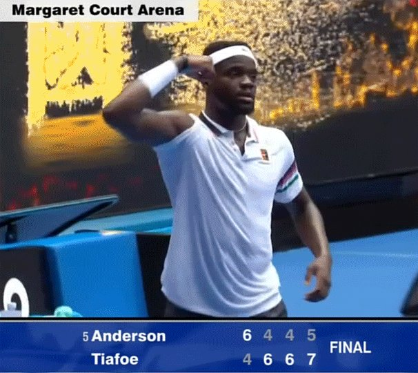 Rising American star Frances Tiafoe scores Australian Open's first big upset