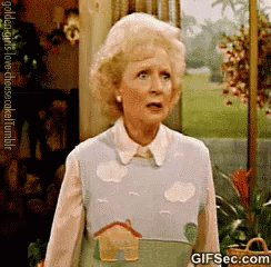 I know its her birthday and I realise she is 97 which is amazing  But will you all stop making #BettyWhite  trend - it scares me shitless every time I see her name come up  #Bettywatch #weloveyouBetty #HappyBirthdayBettyWhite