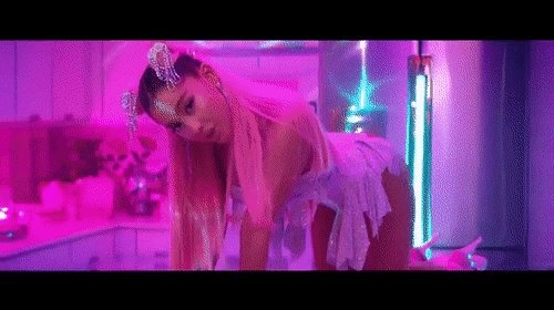 bruh Ariana killed this music video 💍  watch the #7rings movie here: https://t.co/2c8WjzRQUk