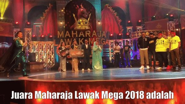 Miss Viral TV's photo on #MaharajaLawakMega2018