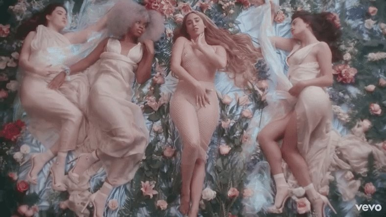 Aphrodite visits Earth in @LaurenJauregui's provocative 'More Than That' video uproxx.it/axzdglb