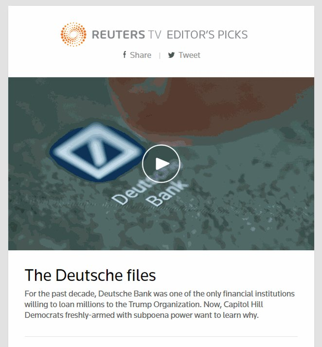 See today's editor's picks: https://reut.rs/2DlzrQN Get them delivered daily to your inbox: https://reut.rs/2FKb1Cb