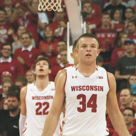 Wisconsin Basketball's photo on Brad Davison