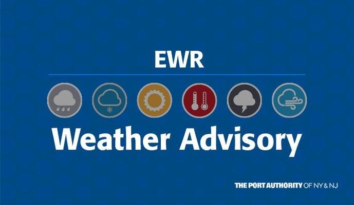 Image for the Tweet beginning: #EWR Winter Storm Update: Cancellation