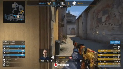 Image for the Tweet beginning: .@Vitality_apEX jump peeking with an