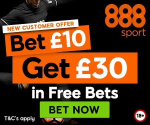 bet 10 get 30 freebets > http://bit.ly/888FREEBETS #888 #epl #footy gambling #rooney #augero mufc #lfc