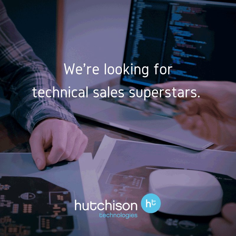 Image for Get some #MondayMotivation apply for our #techsales #manager role today! ????https://t.co/5Ct2IHMwhn #proav #newjob #HutchisonTechnologies ???? https://t.co/4JRaB04IaO