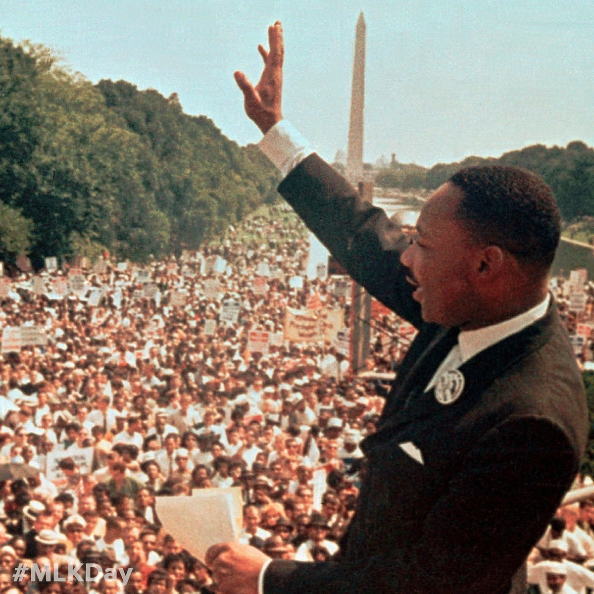 """Today, the men and women of the @NRA honor the profound life and legacy of Dr. Martin Luther King Jr. Dr. King applied for a concealed carry permit in a """"may issue"""" state and was denied. We will never stop fighting for every law-abiding citizen's right to self-defense. #MLKDay"""