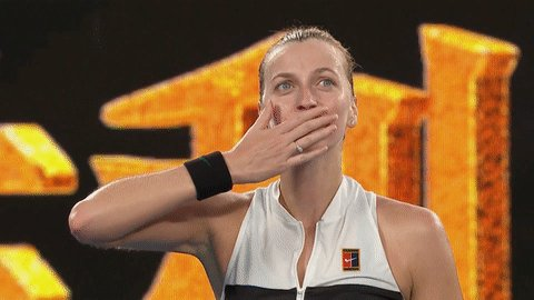 See ya Thursday, @Petra_Kvitova!  #AusOpen