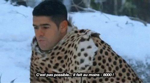 #QuandIlNeigeYaToujours quelqu'un qui tweete : «Il fait au moins -8000m»