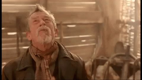 Happy Birthday to Sir John Hurt aka The War Doctor!   You are missed.