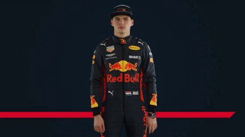 When you've seen all the new gear and can't wait to share it with everyone 🙊 #F1 #redbullracing 😉