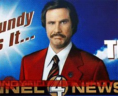 This podcast is starting out on a strong note! I can't wait for the next episode!!! It's kind of a big deal #RonBurgundy