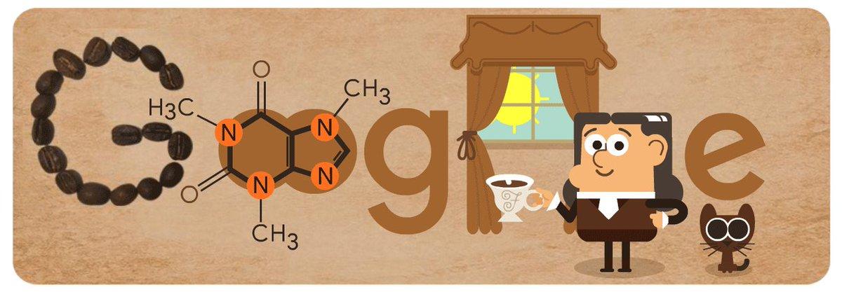 Pause café ? Prenez 5mn pour apprendre à connaître le chimiste qui a découvert la caféine → google.fr