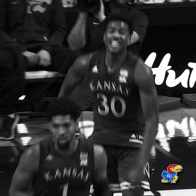 Jayhawk World's photo on #kubball