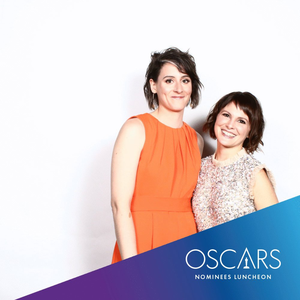 gotta love the gif. Thanks @TheAcademy for setting this up its really cool. #OscarsLunch #Oscars @LateAfternoonCS @animationirel @Wia_Ireland
