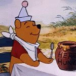 Me right now waiting for my food #winniethepoohday #hungry