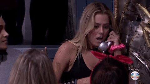 """""""aqui é Natália do Banco Santander"""" #bbb19"""