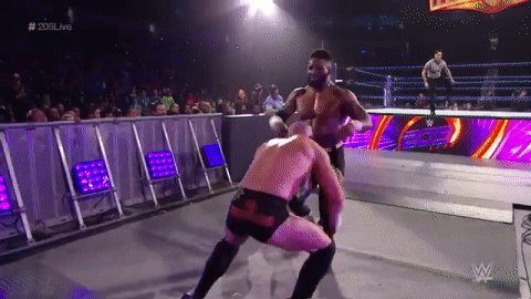 PURE BRUTALITY, courtesy of @RealMikeBennett!!! #205Live