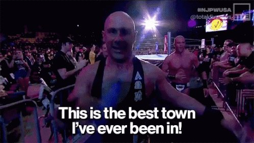 .@FACDaniels & @FrankieKazarian aka #SCU are coming to #MCWAnniversary THIS SATURDAY NIGHT in Joppa, MD‼️  Will the #MCW Arena receive this reaction or will it be the worst town they've ever been in❓  Get Tix @ http://MCWProWrestling.com‼️