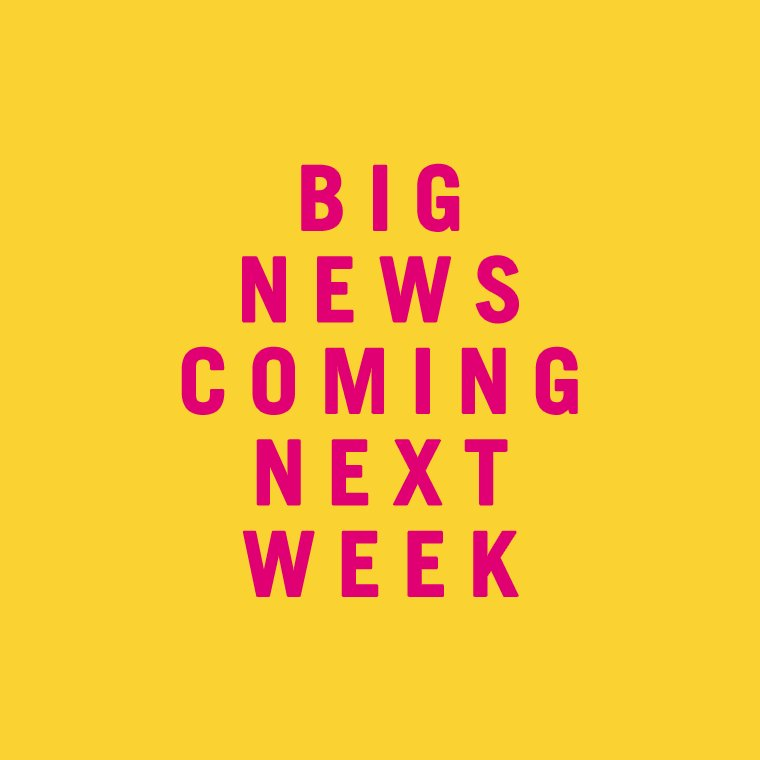 Something BIG is coming next week 👀 #TGE19