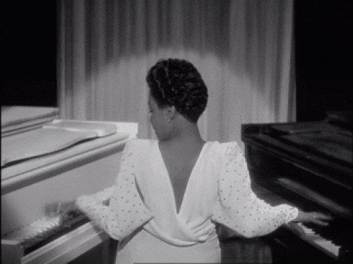 Hol up, @aliciakeys playing duel pianos? YAS! Hazel Scott would be proud! #GRAMMYs