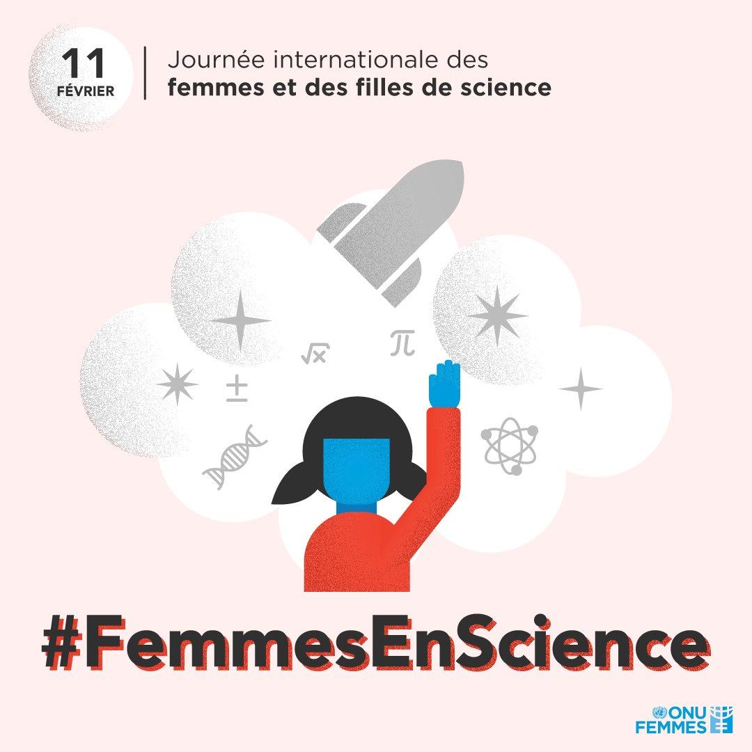 ONU Femmes's photo on #FemmesEnScience