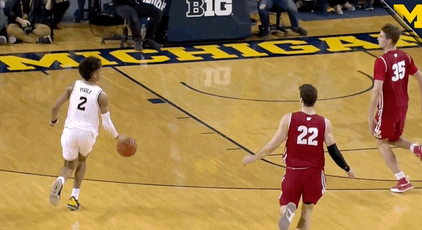 Michigan Men's Basketball's photo on New Week