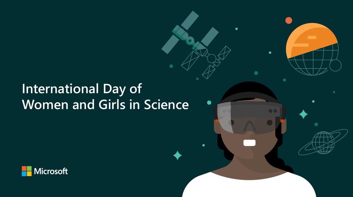 Microsoft Women's photo on #WomenScienceDay