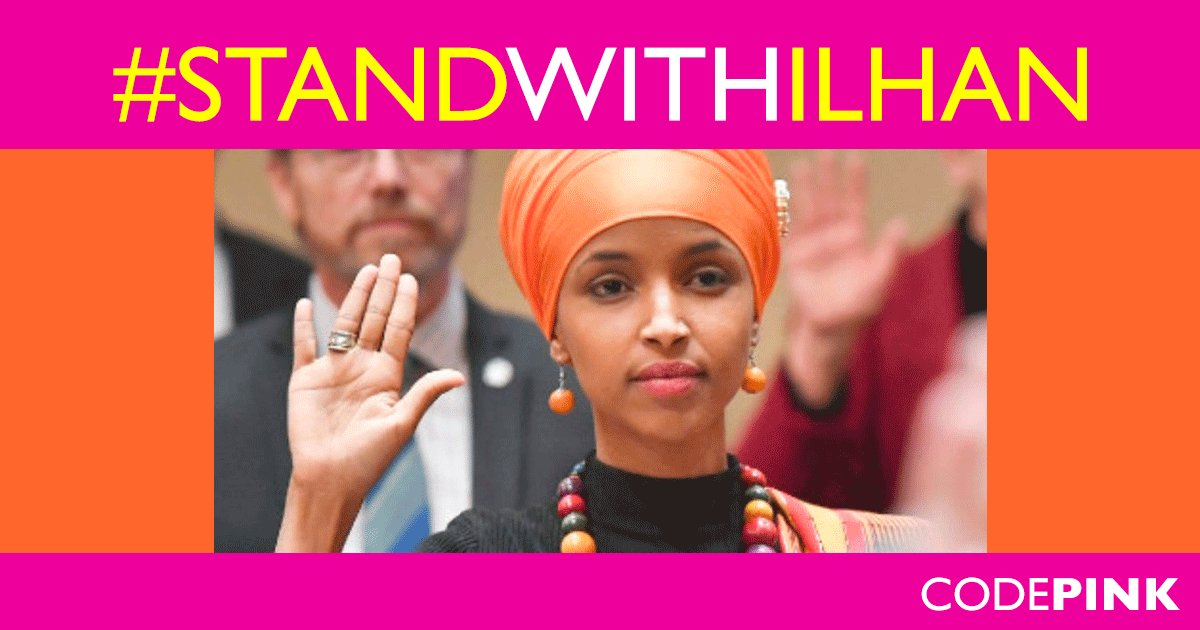 CODEPINK's photo on #StandWithIlhan