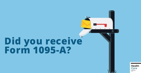 Image for the Tweet beginning: Your Form 1095-A should have