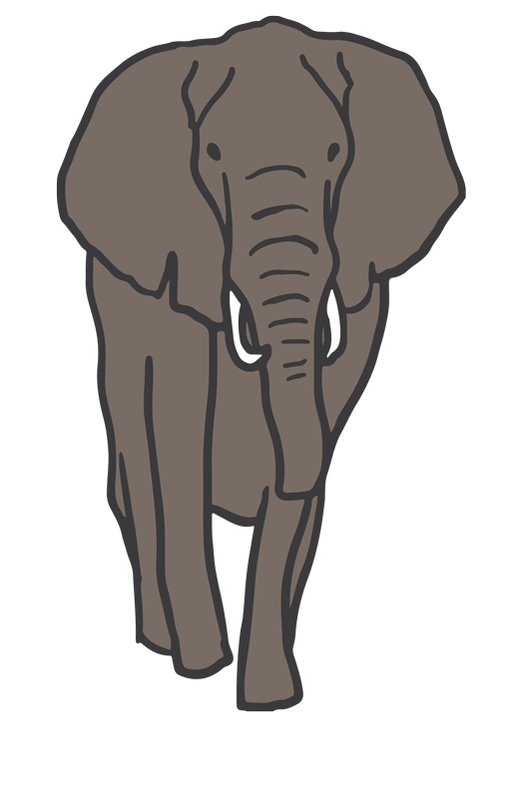 Картинки анимации слоники, добрым утром