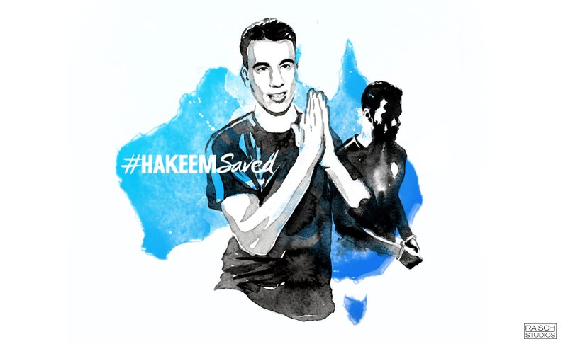 Michael Raisch's photo on #hakeemsaved
