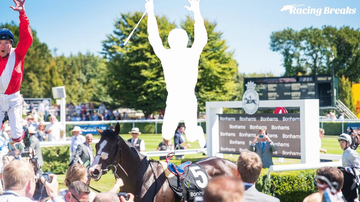 We are giving away 2x Gordon Enclosure Tickets to the Goodwood Festival (courtesy of @Goodwood_Races) & a signed photo of @FrankieDettori!  To WIN:  🛑Stop the GIF in the correct position 📸Reply to this tweet with a screenshot of your attempt 🔁RT post!  Winner announced Friday!